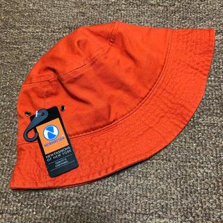 ステューシー(STUSSY)の新品 バケットハット 帽子 NEWHATTAN ニューハッタン 無地 オレンジ(ハット)