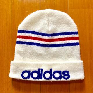 アディダス(adidas)のadidas アディダス ニット帽 ユニセックス フリーサイズ 57~60cm(ニット帽/ビーニー)