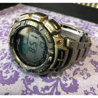 カシオ(CASIO)のCASIO/PRO TREK  PRG-240T(腕時計(デジタル))