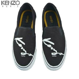 ケンゾー(KENZO)の新品!ケンゾー KENZO 筆記体ロゴ スリッポン(スニーカー)