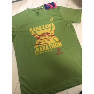 アシックス(asics)の新品、ペア★金沢マラソンTシャツ 2枚ペアセット(陸上競技)