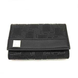 ダンヒル(Dunhill)の未使用‼️ダンヒル  PVC キーケース ブラック ほぼ新品(キーケース)