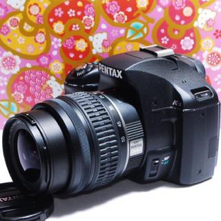 ペンタックス(PENTAX)の◆軽量コンパクト◆PENTAX K-X レンズキット♪◆(デジタル一眼)