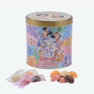 ディズニー(Disney)のディズニー チョコクランチ缶 ハピエストセレブレーション(菓子/デザート)