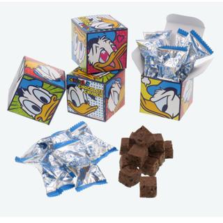 ディズニー(Disney)のドナルド チョコクランチ 紙箱 ディズニー(菓子/デザート)