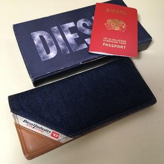 ディーゼル(DIESEL)の【新品!非売品!】DIESEL デニムパスポートケース(その他)