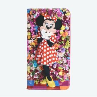 ディズニー(Disney)のスマホケース イマジニングザマジック 蜷川実花 ミニーマウス(モバイルケース/カバー)