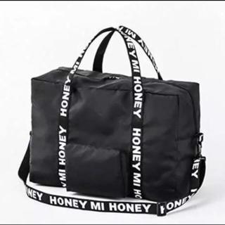 ハニーミーハニー(Honey mi Honey)の新品未使用 ハニーミーハニー ムック ボストン ロゴ(ボストンバッグ)