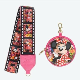 ディズニー(Disney)のカメラストラップ イマジニングザマジック 蜷川実花 ミニーマウス ディズニー(ネックストラップ)