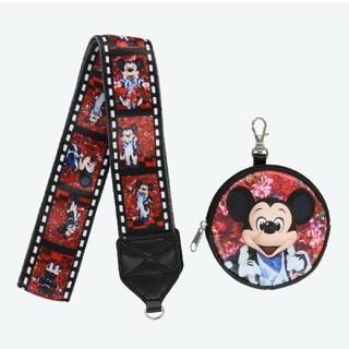 ディズニー(Disney)のカメラストラップ イマジニングザマジック 蜷川実花 ミッキー ディズニーランド(ネックストラップ)