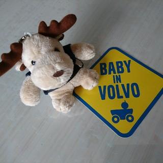 Volvo - VOLVO BABY IN CARステッカー ぬいぐるみ