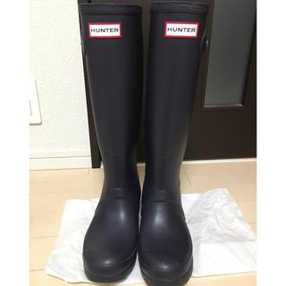 ハンター(HUNTER)の美品 ハンター レインブーツ HUNTER 23cm(レインブーツ/長靴)