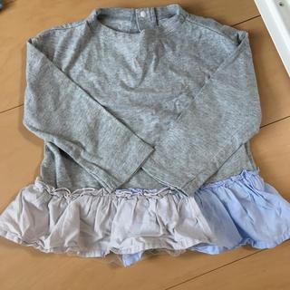 エフオーキッズ(F.O.KIDS)のアプレレクール 裾フリルトップス(Tシャツ/カットソー)