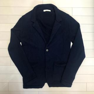 グリフォーニ(GRIFONI)のマウログリフォーニ  MauroGrifoni ニットジャケット ネイビー 48(ニット/セーター)