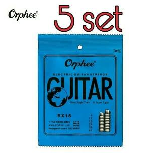 【新品】エレキギター弦09-42 5セット(弦)