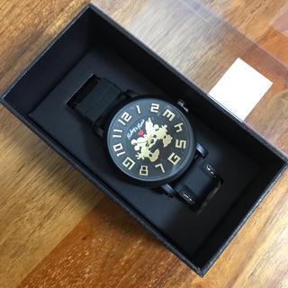 ディズニー(Disney)のディズニー BIGフェイスウォッチ ミッキーマウス 腕時計 送料無料(腕時計(アナログ))