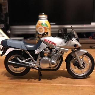 カタナ(KATANA)のSUZUKI GSX1100 カタナ KATANA  バイク ミニカー 銀(ミニカー)