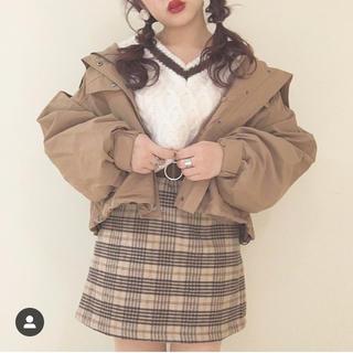 ヘザー(heather)のヘザー♡チェックスカート(ミニスカート)