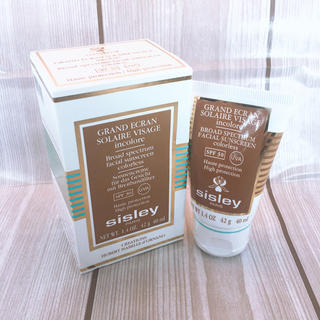 シスレー(Sisley)の☆新品未使用☆シスレー グラン エクラン アンコロレ SPF30 42g(日焼け止め/サンオイル)