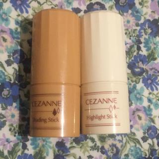 セザンヌケショウヒン(CEZANNE(セザンヌ化粧品))のセザンヌ  シェーディングスティック&ハイライトスティック(フェイスカラー)