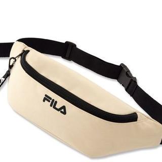 フィラ(FILA)のFILA☆ロゴキーホルダー付きウエストポーチ(ボディバッグ/ウエストポーチ)