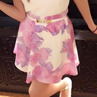 デイライルノアール(Delyle NOIR)のデイライル 花柄スカート(ミニスカート)
