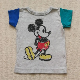 アンパサンド(ampersand)の【美品】ミッキー Tシャツ 80(Tシャツ)