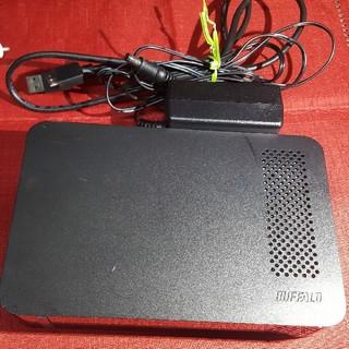 バッファロー(Buffalo)のBUFFALO 外付けハードディスク USB3.0 2TB(PC周辺機器)