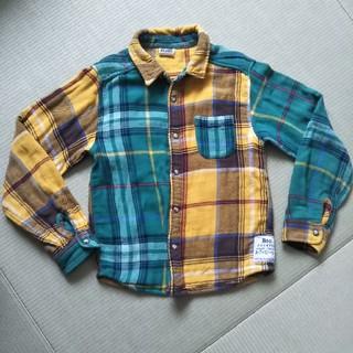 エフオーキッズ(F.O.KIDS)のエフオーキッズ チェック柄シャツ ネルシャツ(Tシャツ/カットソー)