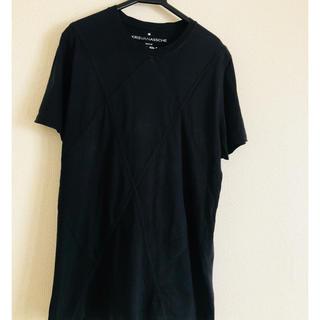 クリスヴァンアッシュ(KRIS VAN ASSCHE)の美品 クリスヴァンアッシュ  無地tシャツ   (Tシャツ/カットソー(半袖/袖なし))