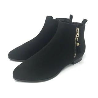 ヴェリココ(velikoko)の[ラクチンきれいブーツ]すっきりタッセルブーツ(ブーツ)