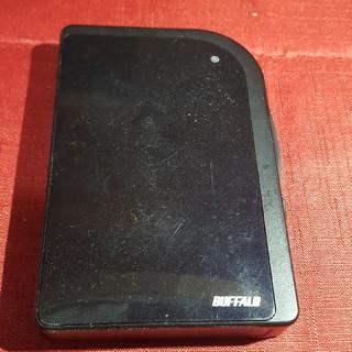 バッファロー(Buffalo)のBUFFALO ポータブルハードディスク500GB(PC周辺機器)