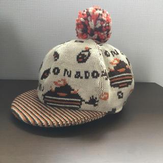 ナチュラルブー(Natural Boo)のポンポン付き帽子(帽子)