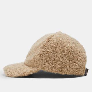 ザラ(ZARA)のラス1 ザラ ボア キャップ 帽子 テディベア プードル テッド ジャケット(キャップ)