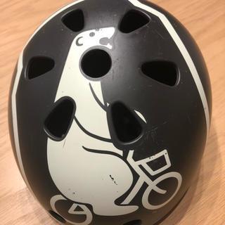 ブリヂストン(BRIDGESTONE)のブリヂストン BRIDGESTONE キッズヘルメット ダークグレー(自転車)