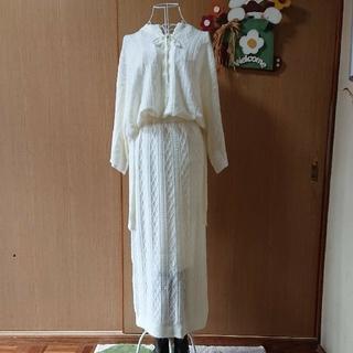 ダブルクローゼット(w closet)のW Closet ニットセットアップ(ニット/セーター)