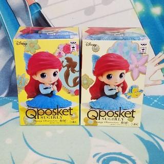 ディズニー(Disney)のQposKet SUGIRLY/ーアリエルー二種セット(アメコミ)