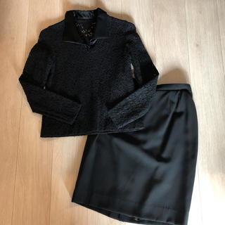 東京スタイル ブラックフォーマル3点セット【11号】(礼服/喪服)