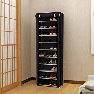 シューズラック☆玄関収納 10段  靴箱 (玄関収納)