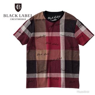 BLACK LABEL CRESTBRIDGE - 限定 3周年 記念 ブラックレーベル クレストブリッジ チェック tシャツ M