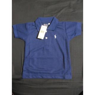 デニムアンドサプライラルフローレン(Denim & Supply Ralph Lauren)のポロシャツ 紺 2 90-100(その他)