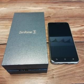 エイスース(ASUS)のzenfone3 スマートフォン本体 注意点有(スマートフォン本体)