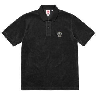 シュプリーム(Supreme)のSupreme Lacoste velour Polo Black (ポロシャツ)