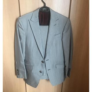コムサメン(COMME CA MEN)のコムサメン スーツ ジャケット ズボン 上下セット オーダーメイド メンズ(セットアップ)