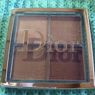 ディオール(Dior)のdior バックステージ コントゥール パレット 001(フェイスカラー)
