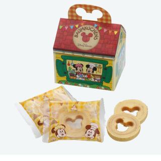 ディズニー(Disney)のディズニー バームクーヘン 紙箱 ミッキー ミニー(菓子/デザート)