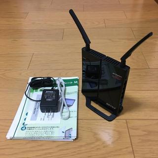 バッファロー(Buffalo)の無線LAN親機 AirStation WHR-300HP(PC周辺機器)