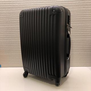 超軽量スーツケース Mサイズ TSAロック 黒