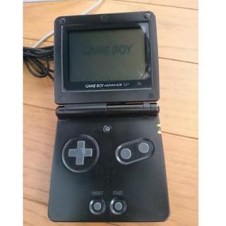 ゲームボーイアドバンス(ゲームボーイアドバンス)のゲームボーイアドバンスSP 充電器 ソフト9本 (携帯用ゲーム本体)