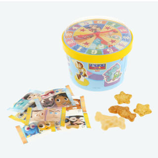 ディズニー(Disney)のピクサー おせんべい 紙箱 ディズニー(菓子/デザート)